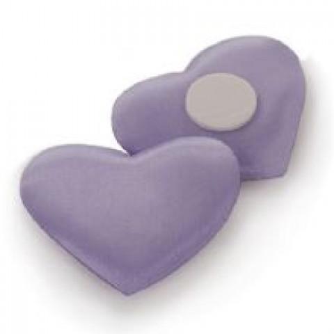 Adesivo Coração Liso - Lilás