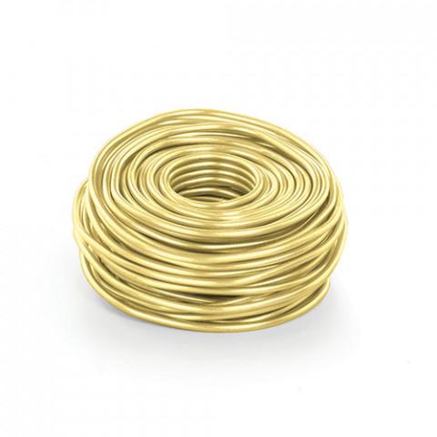 Arame de Alumínio P - Ouro