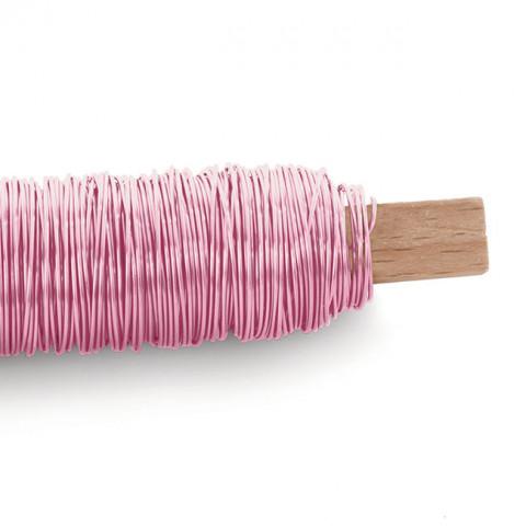 Arame Decorativo Liso - Rosa