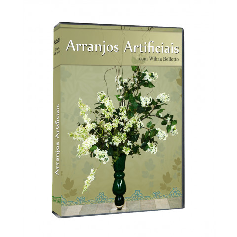 DVD Arranjos Artificiais com Wilma Bellotto