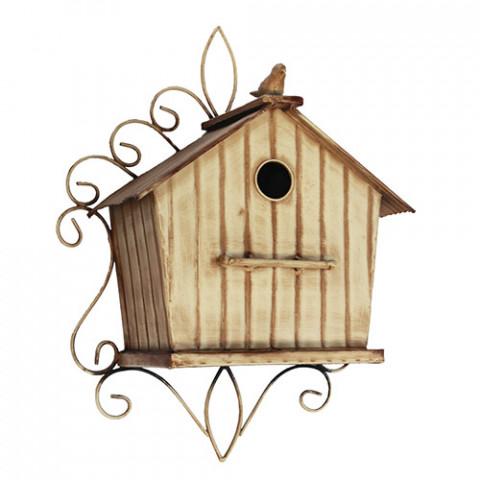 Bird House Metálico (34 x 41 x 14 cm)