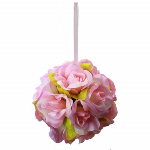 Bola de Rosas - cor Rosa