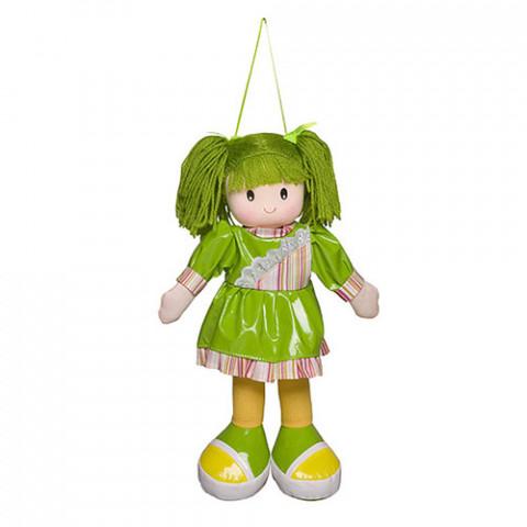 Boneca Anie Vestido Liso Verde