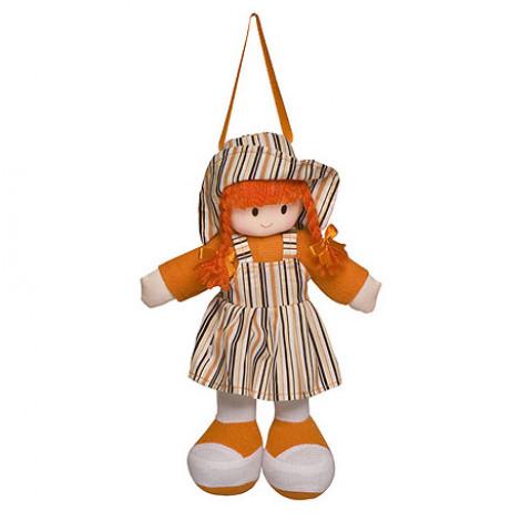 Boneca Gigi Vestido Listrado Laranja