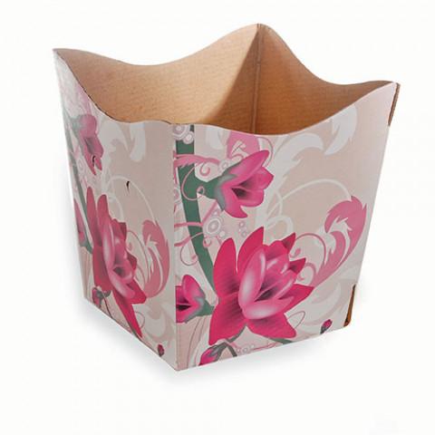 Cachepot  P - Floral Elegance