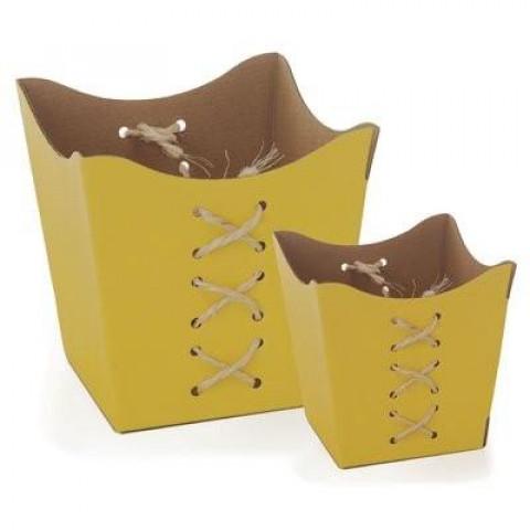 Cachepot P - Sisal Amarelo