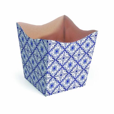 Cachepot P - Textura de Azulejo