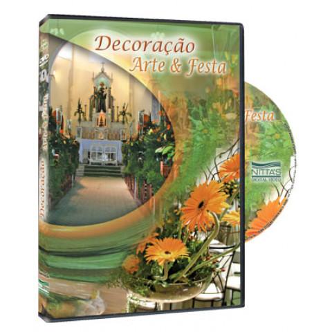 DVD Decoração Arte e Festa