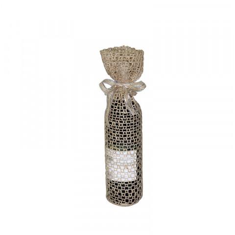 Embalagem de Juta para Vinho (10 x 40 cm)