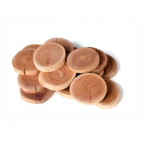 Fatia de Madeira - Rubra Natural