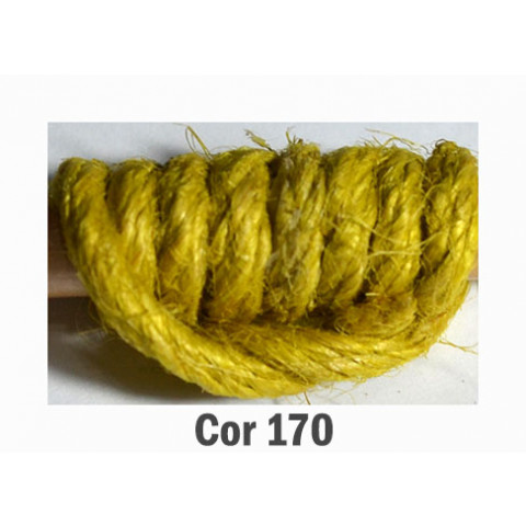 Fio de Juta Encerado 3005 - Amarelo