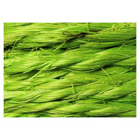 Fio de Sisal Trançado - Verde Lima (cor 220)