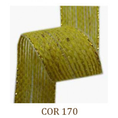 Fita de Juta - Amarelo / Ouro (3260-170)