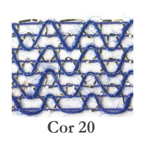 Fita de Juta - Azul Royal (85140-20)