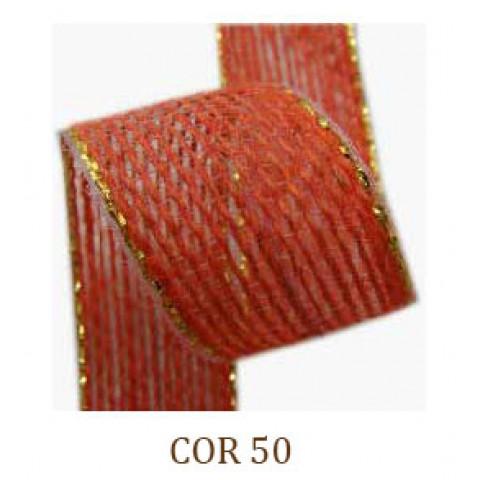 Fita de Juta - Cenoura / Ouro (3260-50)