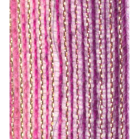 Fita de Juta - Degradê Ouro - Rosa / Framboesa (7638-410)