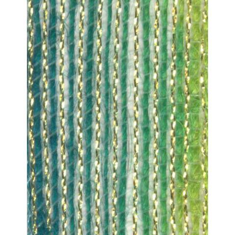 Fita de Juta - Degradê Ouro - Verde Ocean / Verde Lima (7660-300)
