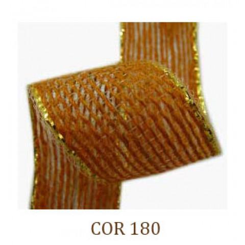 Fita de Juta - Laranja / Ouro (3260-180)