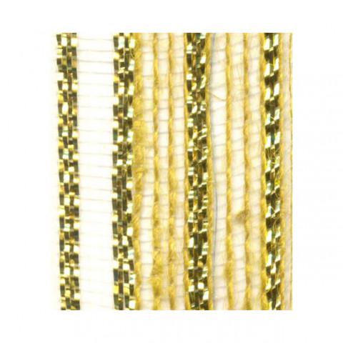Fita de Juta - Modelo 3438 - Cor Amarelo /Ouro