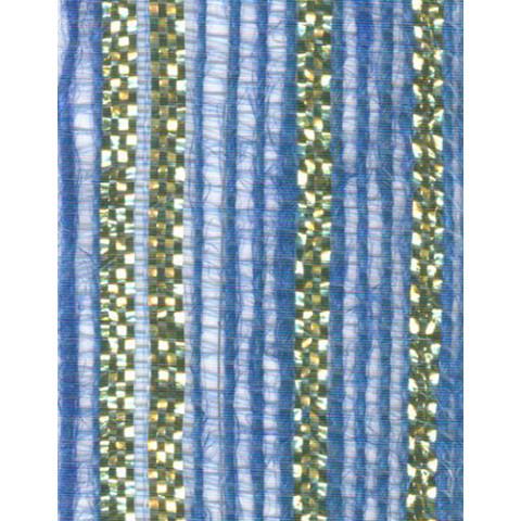 Fita de Juta - Modelo 3438 - Cor Azul Royal /Ouro