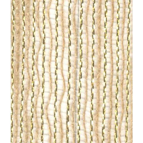 Fita de Juta - Natural / Ouro (7520-102)