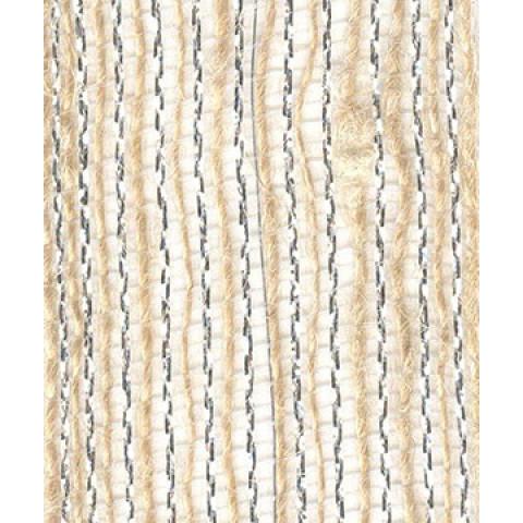 Fita de Juta - Natural / Prata (7520-101)