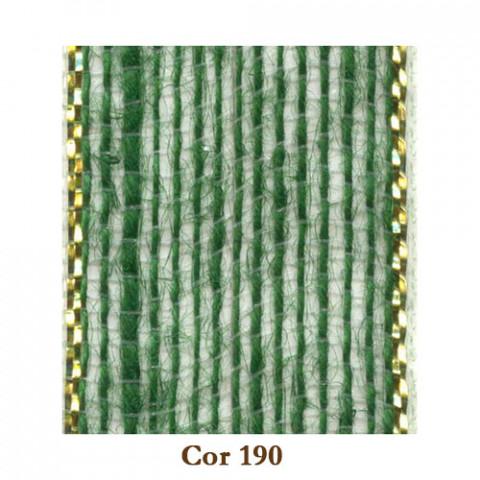 Fita de Juta - Verde Musgo / Ouro (3260-190)