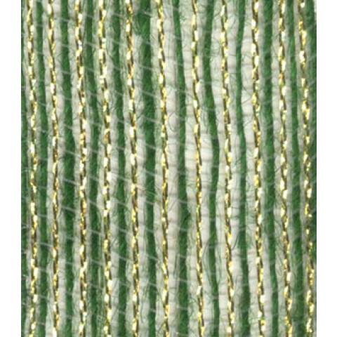 Fita de Juta - Verde Musgo / Ouro (7520-190)
