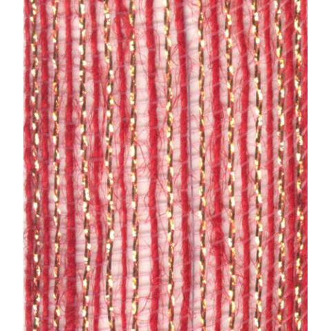 Fita de Juta - Vermelho / Ouro (7560-240)