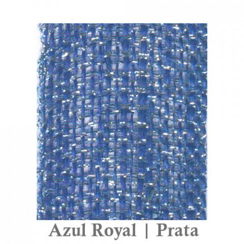 Fita Juta 1210 - Azul Royal| Prata