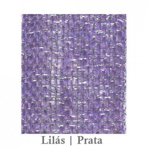 Fita Juta 1210 - Lilás | Prata