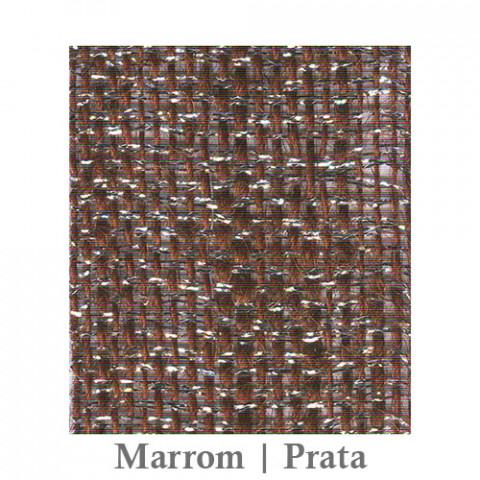 Fita Juta 1210 - Marrom | Prata