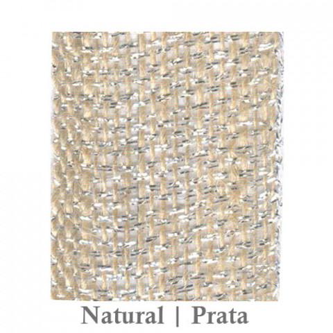 Fita Juta 1210 - Natural | Prata