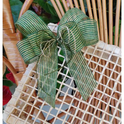 Laço de Juta (M) - Triplo Verde
