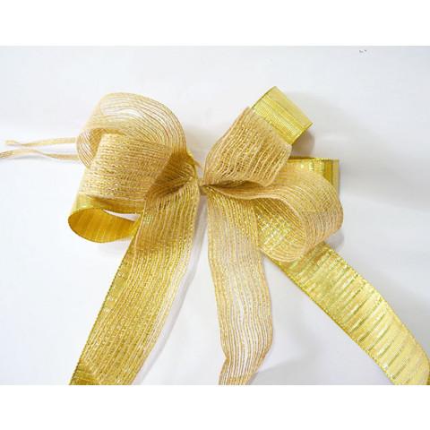 Laço Nacarado Dourado
