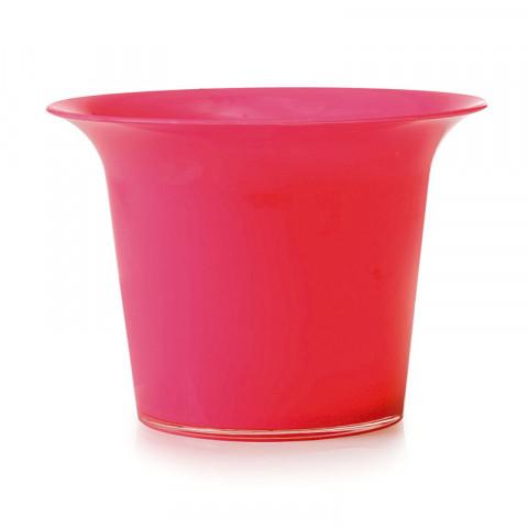 Pote de Cristal G - Rosa