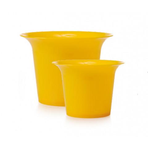 Pote de Cristal P - Amarelo