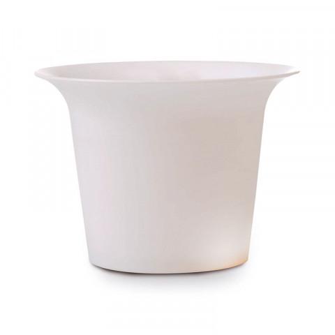 Pote de Cristal P - Branco