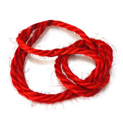 Sisal Trançado 1818 - Vermelho