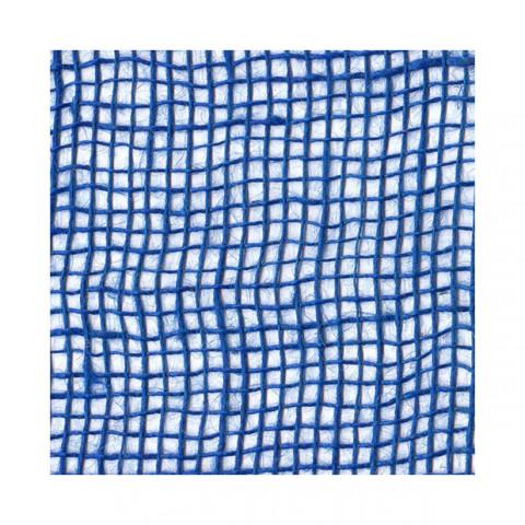 Tela de Juta 145 - Trama Aberta - Azul Royal (cor 20)
