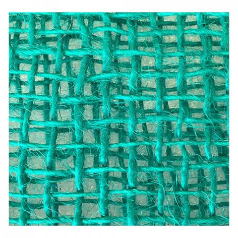 Tela de Juta 145 - Trama Aberta - Verde Ocean (cor 30)