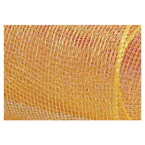 Tela Decorativa - Amarelo com fio Ouro
