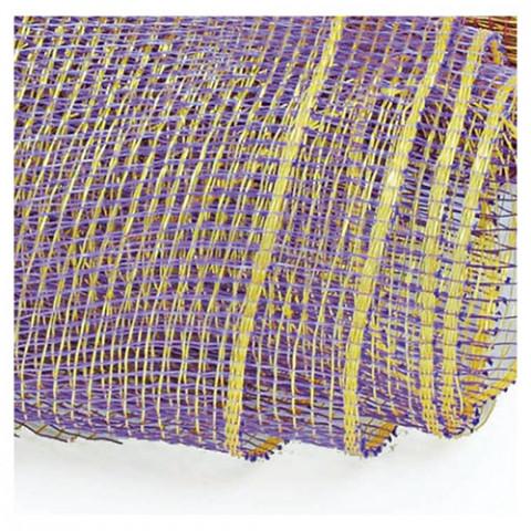 Tela Decorativa - Lilás | Dourado