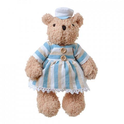 Ursinha Teddy Marinheira - (20 cm) - de pé