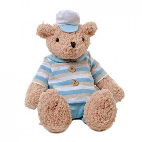 Ursinho Teddy Marinheiro (28 cm) - sentado