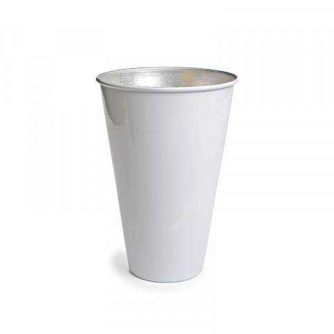 Vaso de Alumínio - Branco