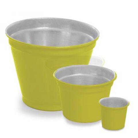 Vaso de Alumínio - Mini Pote II Amarelo