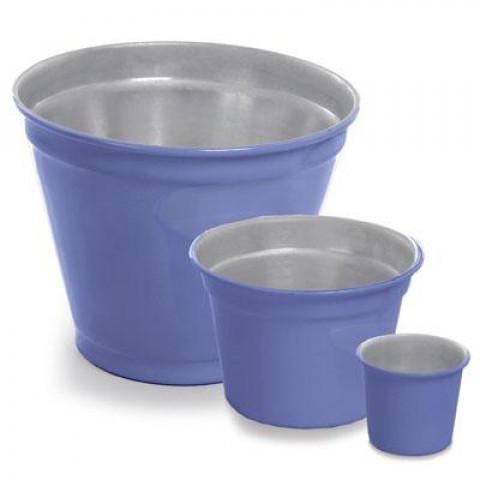 Vaso de Alumínio - Mini Pote II Azul