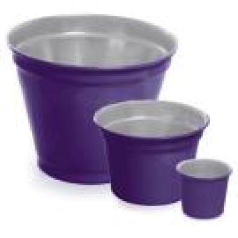 Vaso de Alumínio - Mini Pote II Roxo