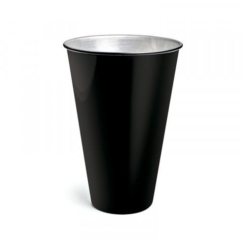 Vaso de Alumínio - Preto